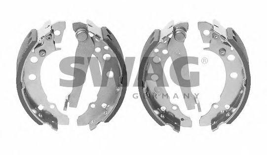Тормозные колодки SWAG 30 90 8202