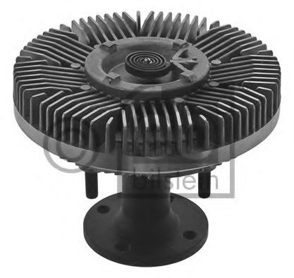 Вязкостная муфта вентилятора охлаждения FEBI BILSTEIN 38207