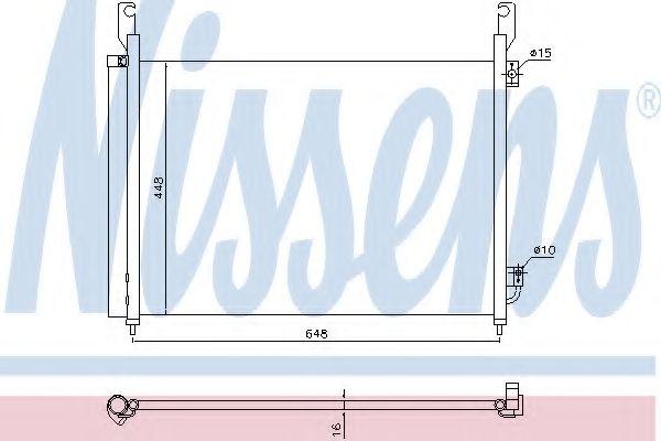 Радиатор кондиционера NISSENS 940316