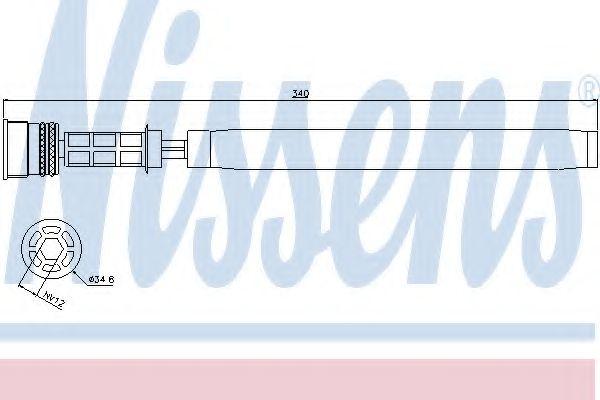 Осушитель кондиционера NISSENS 95458