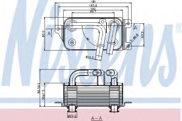 Масляный радиатор NISSENS 90623