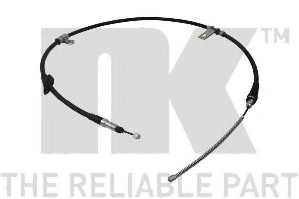 Трос ручника NK 904020