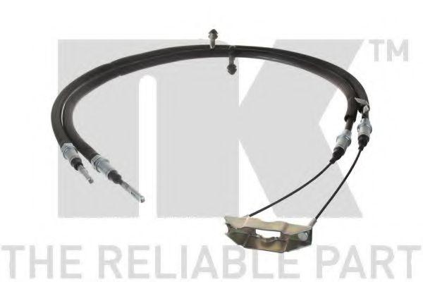 Трос ручника NK 904121