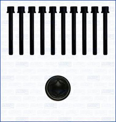 Комплект болтов головки блока цилиндров (ГБЦ) AJUSA 81003100