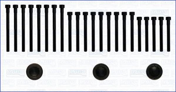 Комплект болтов головки блока цилиндров (ГБЦ) AJUSA 81005600