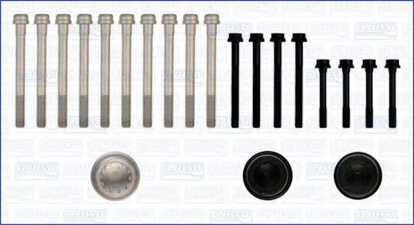 Комплект болтов головки блока цилиндров (ГБЦ) AJUSA 81009200