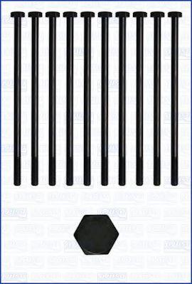 Комплект болтов головки блока цилиндров (ГБЦ) AJUSA 81011600