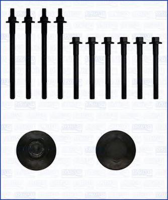 Комплект болтов головки блока цилиндров (ГБЦ) AJUSA 81011800