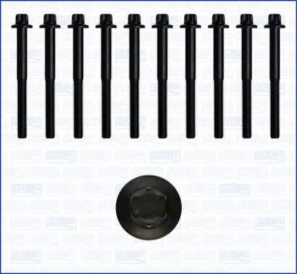 Комплект болтов головки блока цилиндров (ГБЦ) AJUSA 81011900