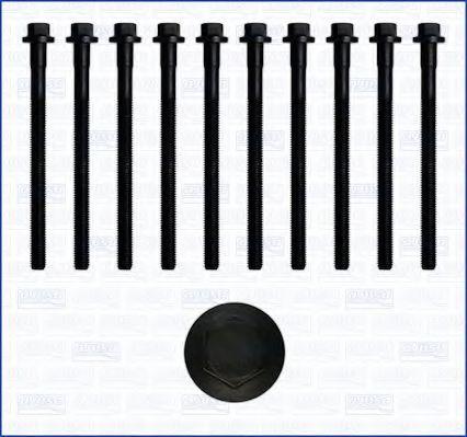 Комплект болтов головки блока цилиндров (ГБЦ) AJUSA 81016200