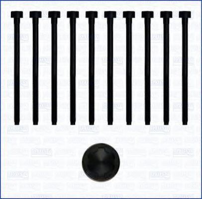 Комплект болтов головки блока цилиндров (ГБЦ) AJUSA 81017800