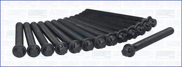 Комплект болтов головки блока цилиндров (ГБЦ) AJUSA 81020400