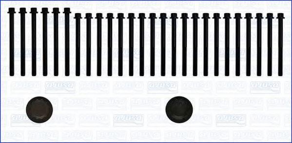 Комплект болтов головки блока цилиндров (ГБЦ) AJUSA 81021900