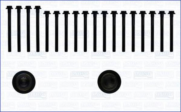 Комплект болтов головки блока цилиндров (ГБЦ) AJUSA 81023200