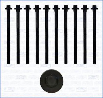 Комплект болтов головки блока цилиндров (ГБЦ) AJUSA 81024600