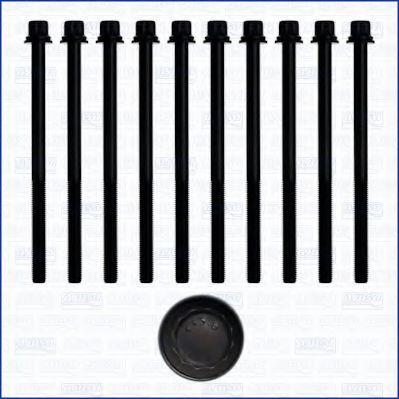 Комплект болтов головки блока цилиндров (ГБЦ) AJUSA 81027500
