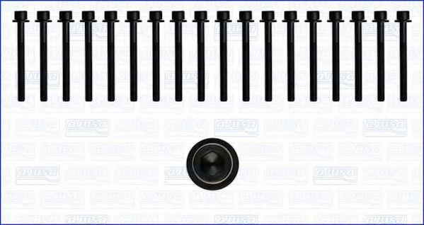 Комплект болтов головки блока цилиндров (ГБЦ) AJUSA 81031400
