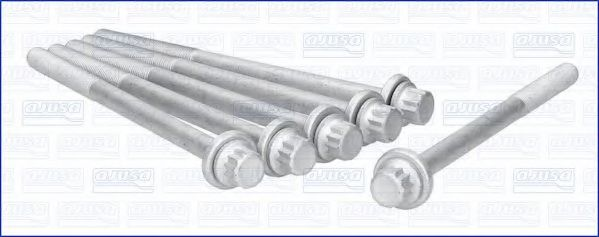 Комплект болтов головки блока цилиндров (ГБЦ) AJUSA 81048800