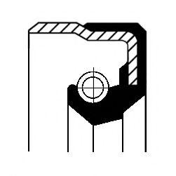 Сальник ступицы колеса CORTECO 01020679B
