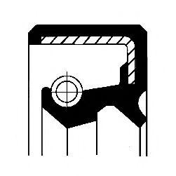 Сальник ступицы колеса CORTECO 12017122B
