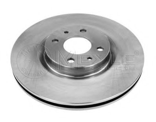 Тормозной диск MEYLE 215 521 0010