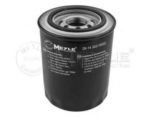 Масляный фильтр MEYLE 28-14 322 0002