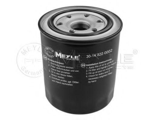 Масляный фильтр MEYLE 30-14 322 0002