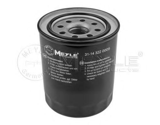 Масляный фильтр MEYLE 31-14 322 0005