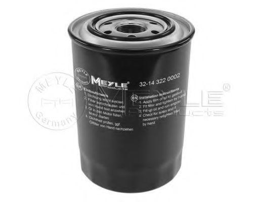 Масляный фильтр MEYLE 32-14 322 0002