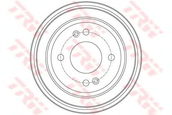 Тормозной барабан TRW DB4430