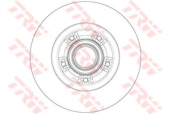 Тормозной диск TRW DF6203BS