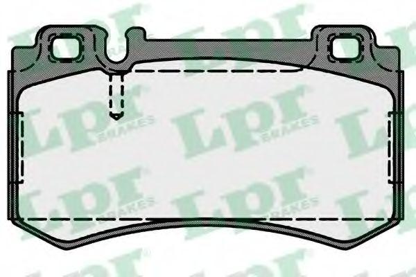 Тормозные колодки LPR 05P1719
