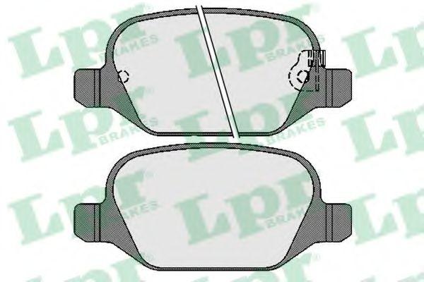 Тормозные колодки LPR 05P1725