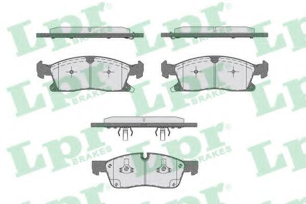 Тормозные колодки LPR 05P1745