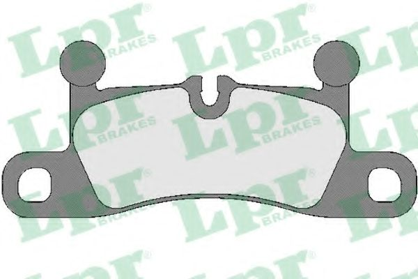 Тормозные колодки LPR 05P1755