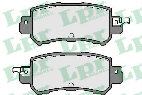 Тормозные колодки LPR 05P1756