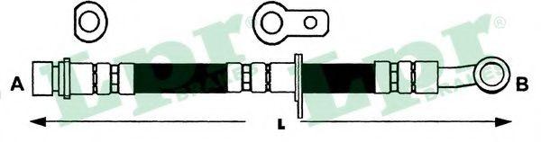 Тормозной шланг LPR 6T48139