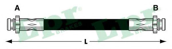 Тормозной шланг LPR 6T48031