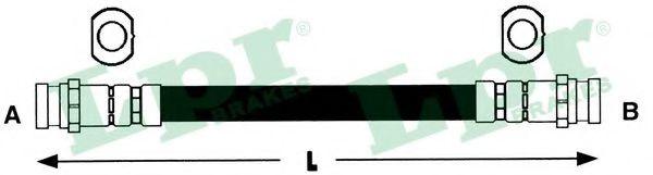 Тормозной шланг LPR 6T48228