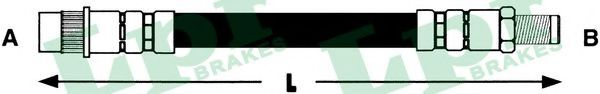 Тормозной шланг LPR 6T47979