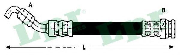 Тормозной шланг LPR 6T48074