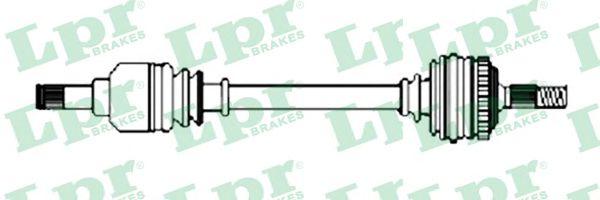 Приводной вал LPR DS37101