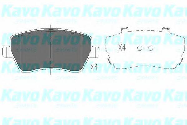 Тормозные колодки KAVO PARTS KBP-6559