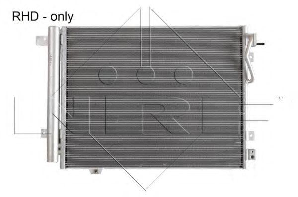 Радиатор кондиционера NRF 35978