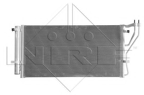 Радиатор кондиционера NRF 35980