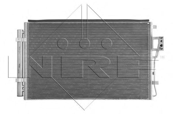 Радиатор кондиционера NRF 35985