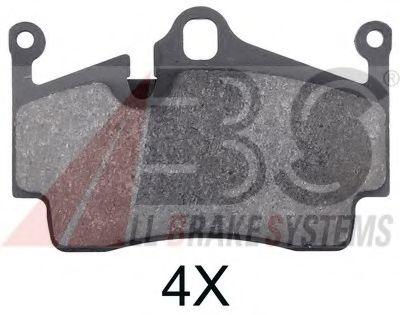 Тормозные колодки A.B.S. 37697