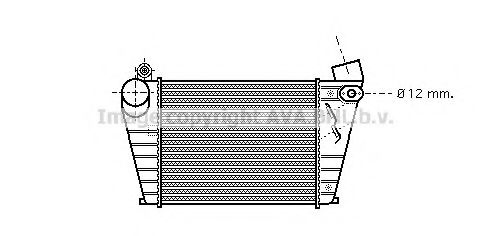 Интеркулер AVA QUALITY COOLING VWA4200