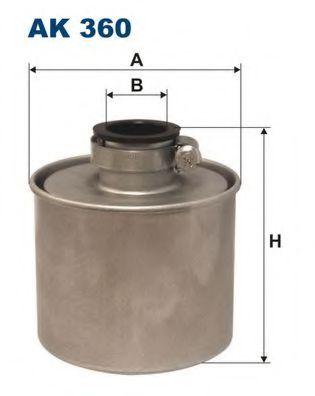 Фильтр системы вентиляции картера FILTRON AK360