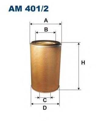 Воздушный фильтр FILTRON AM401/2